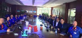 """道特与河北亚大集团达成进一步战略合作 ——公司管理系统""""项目通""""软件合作正式签订"""